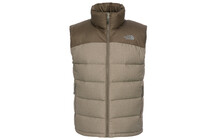 The North Face Men's Nuptse 2 Vest coffee brown